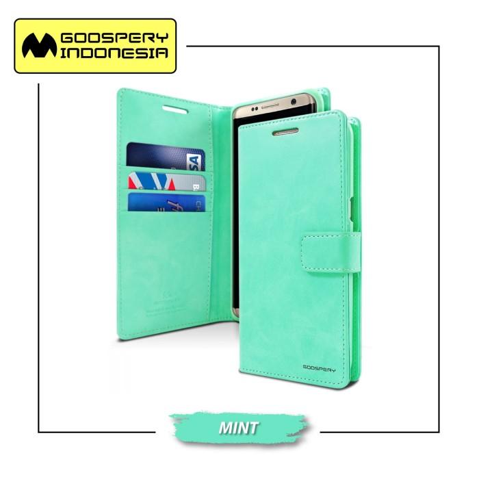 Goospery samsung galaxy grand 2 blue moon diary case - mint
