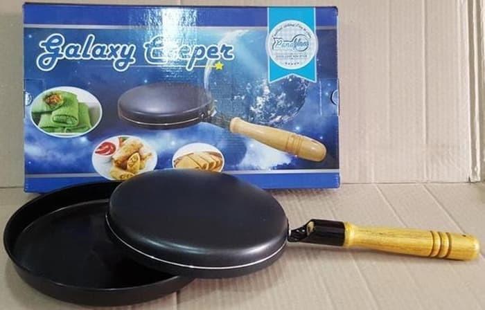 harga Pan cetakan membuat dadar guling kulit lumpia crepes galaxy crepe Tokopedia.com