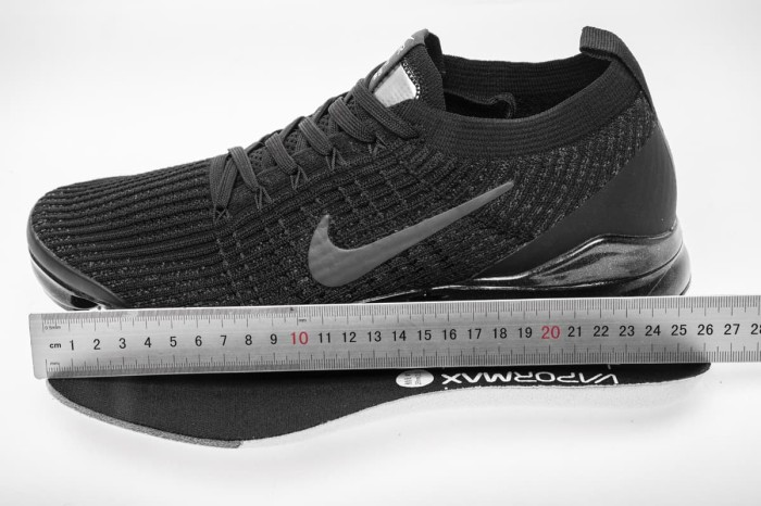 1dfd5506e77 Jual Nike Air Vapormax Flyknit 3.0 - Triple Black UA Quality ...