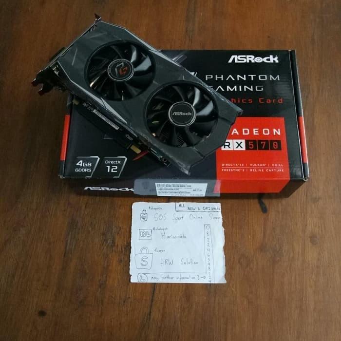 Jual Limited Asrock Phantom Gaming Radeon RX 570 4GB - Kota Denpasar -  lailashope   Tokopedia