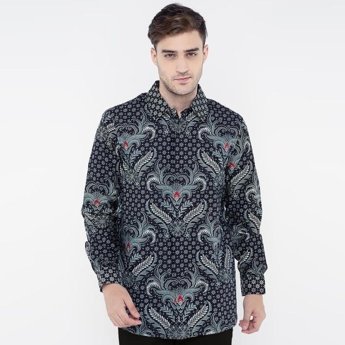 86 Model Baju Batik Pria Abu Abu Kekinian