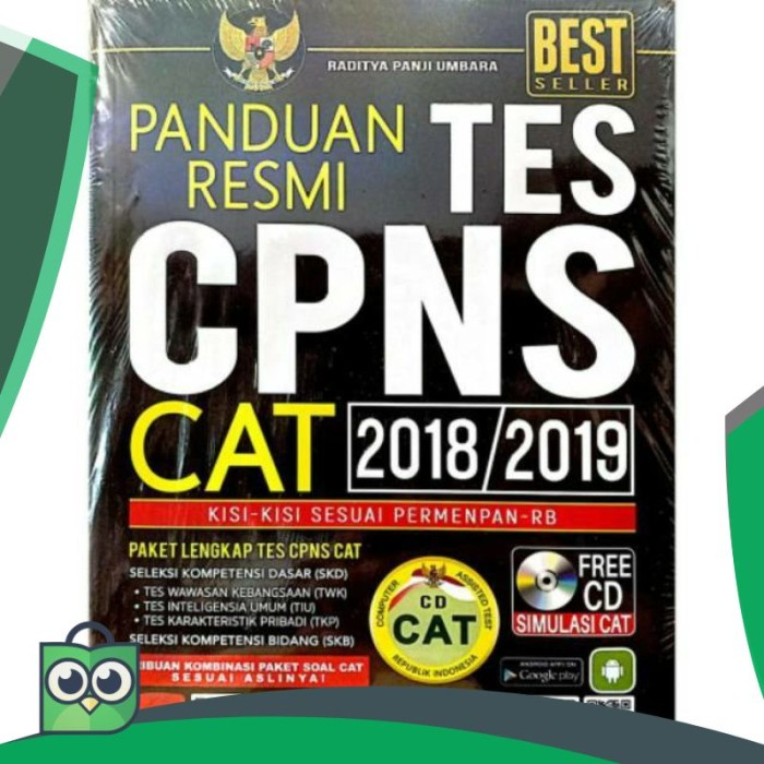 Jual Panduan Resmi Tes Cpns Cat 2018 2019 Dki Jakarta Aisi Store Id Tokopedia