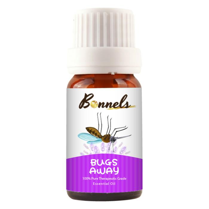Bonnels essential oil - bugs away pengusir nyamuk serangga alami bayi