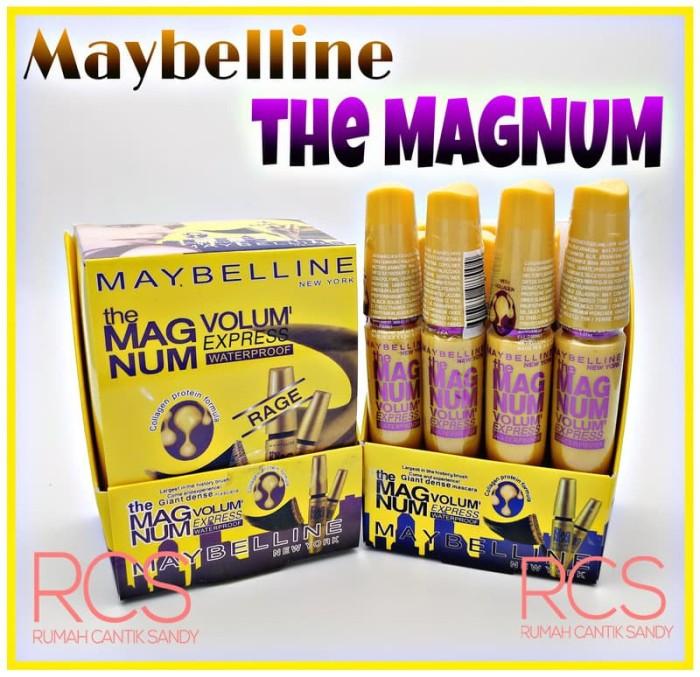 0aba7369511 Mascara MAYBELLINE ~ Maskara Maybeline ~ THE MAGNUM ~ Volum Express ~  Waterproof