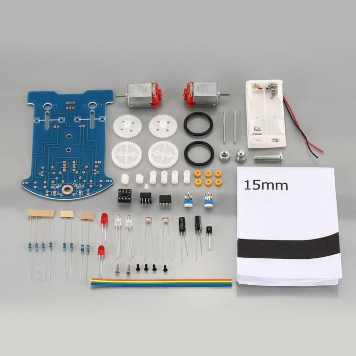 Foto Produk Intelligent Line Tracking Smart Car Suite DC Motor Electric DIY Kits dari LisuInstrument