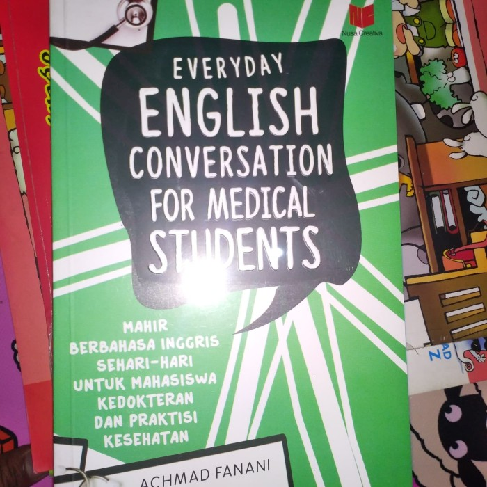 Jual Buku Mahir Berbahasa Inggris Sehari Hari Untuk Mahasiswa
