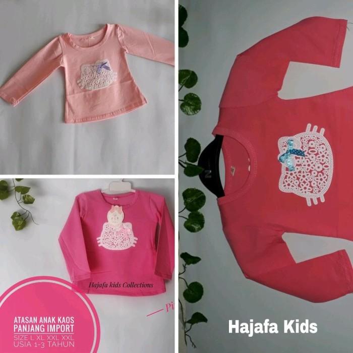 Foto Produk Baju Anak Kaos Perempuan Lengan Panjang 1-3 Tahun dari Franziska