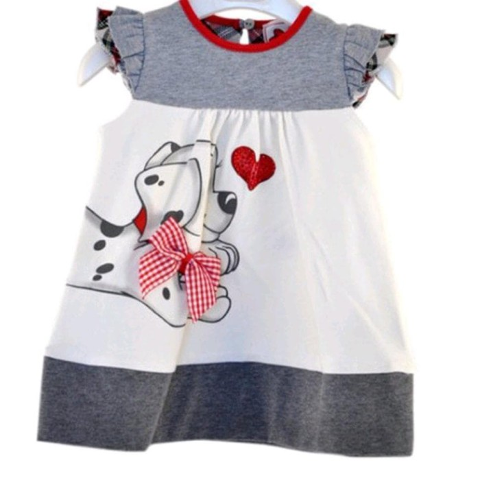 Foto Produk Baju Dress Anak Perempuan Untuk Usia 1T Sampai 4T Motif Lucu dari Franziska