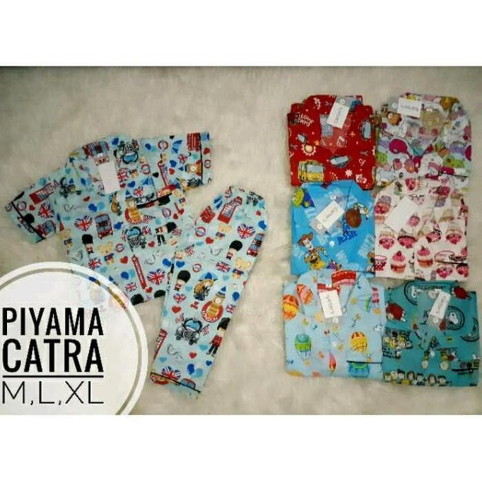 Foto Produk Grosir Piyama Katun Catra Baju Tidur Anak Laki Perempuan Murah Grosir dari Franziska