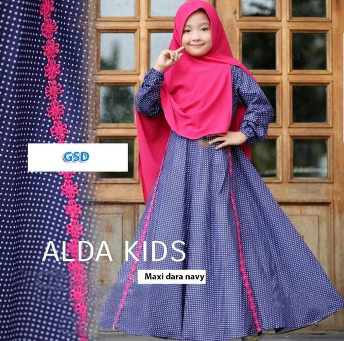 Foto Produk Baju Muslim Anak Wanita-Gamis Pesta Anak Cewe-Dress Syari Anak Cewe- dari Franziska