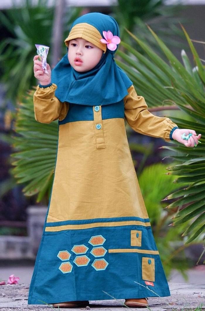 Foto Produk Baju Gamis Anak Nibras Nsap 32 dari Franziska