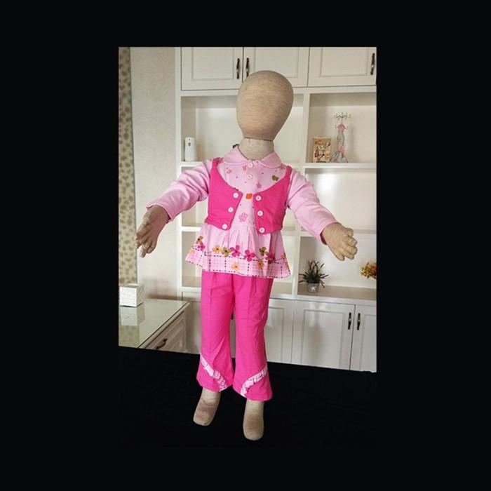 Foto Produk Pajama Piyama Bayi Anak Perempuan Semi Rompi Import Zh-Pfa001 dari Franziska