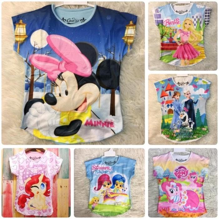 Foto Produk Kaos Atasan Baju Anak Perempuan dari Franziska