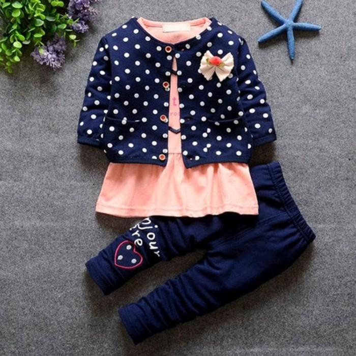 Foto Produk Baju Anak Perempuan 3Set Untuk Usia 1 Sampi 4 Tahun dari Franziska