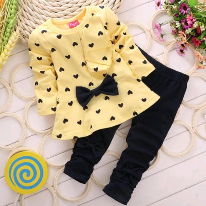 Foto Produk Baju Setelan Anak Perempuan Lengan Dan Baju Panjang dari Franziska