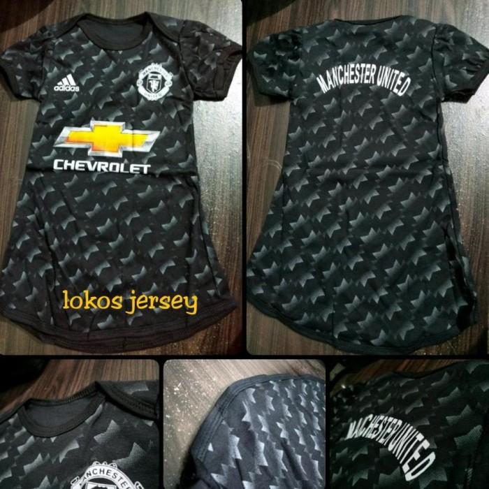 Foto Produk Dress Baju Bola Anak Perempuan Manchester United 2017 2018 dari Franziska