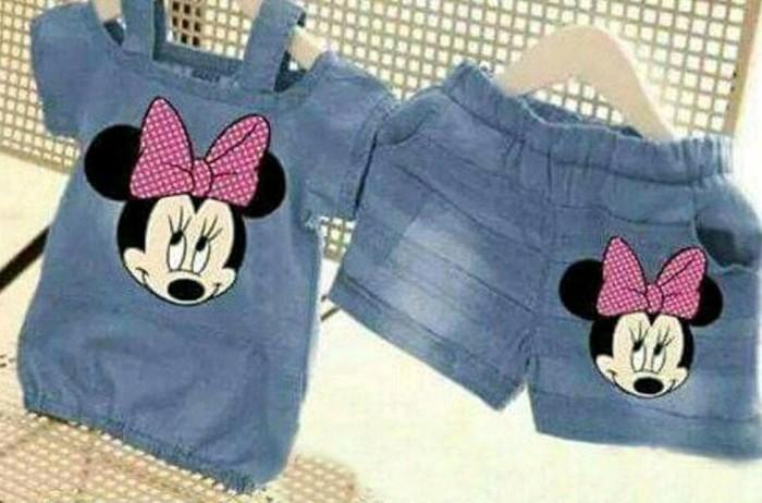 Foto Produk Ready Dua Varian Setelan Anak Perempuan Baju Stelan Anak Cewek Fashion dari Franziska