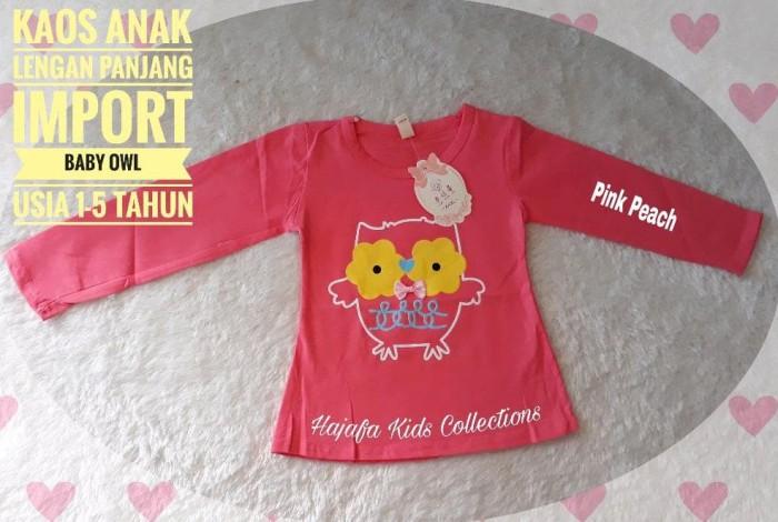 Foto Produk Baju Anak Perempuan Kaos Baby Owl Murah dari Franziska