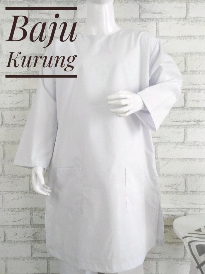 Foto Produk Smp Baju Kurung Padang Seragam Sekolah Madrasah Smp Putih Bahan Tc dari Franziska