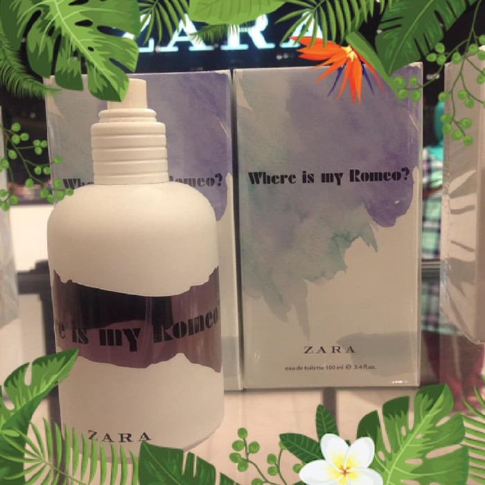 Original Edt My Is Bloom Zara Fleur Kota De Jual idTokopedia Romeo Where 100 Ml Surabaya Parfum rxWCBoed