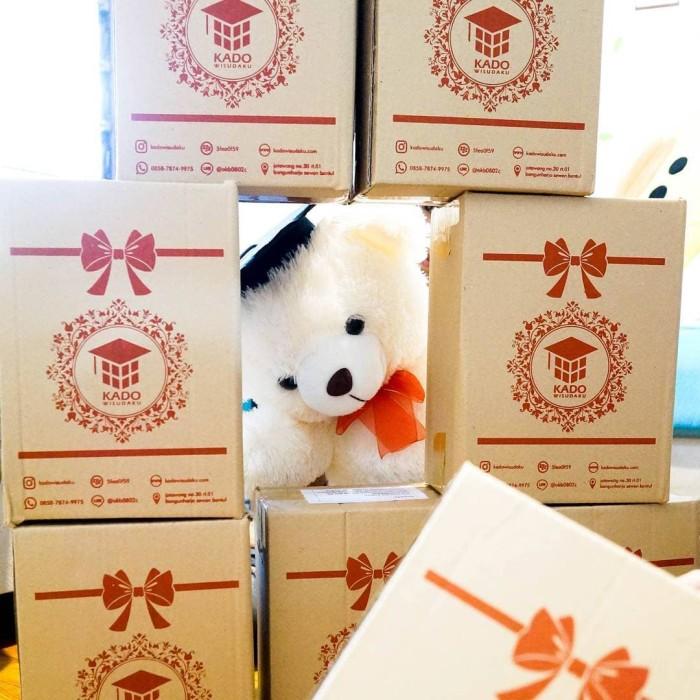 Jual Piala Boneka Wisuda Teddy Bear bisa Request Nama dan Logo Kado ... ca1616e8e7
