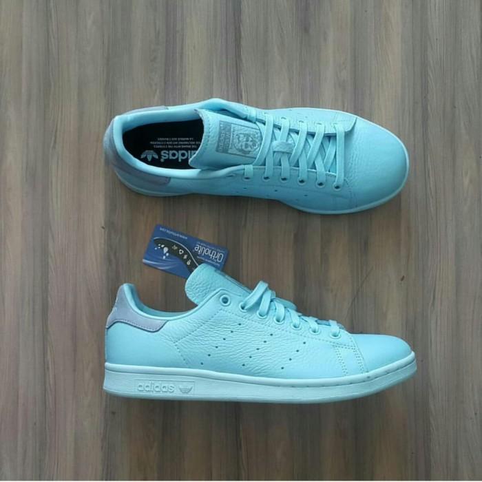 quality design 4097f f4eb3 Jual Sepatu Adidas Stan Smith Ice Blue ORIGINALS - , - Kota Bekasi - AG  ORIGINALSS | Tokopedia