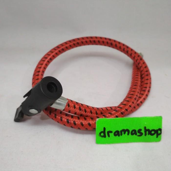 Foto Produk Selang Pompa Sepeda tangan murah dari dramashop