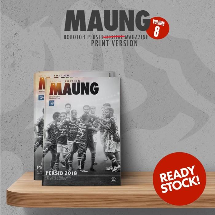 Foto Produk Majalah MAUNG #8 Special Edition Versi Cetak Ukuran B5 dari SIMASTORE