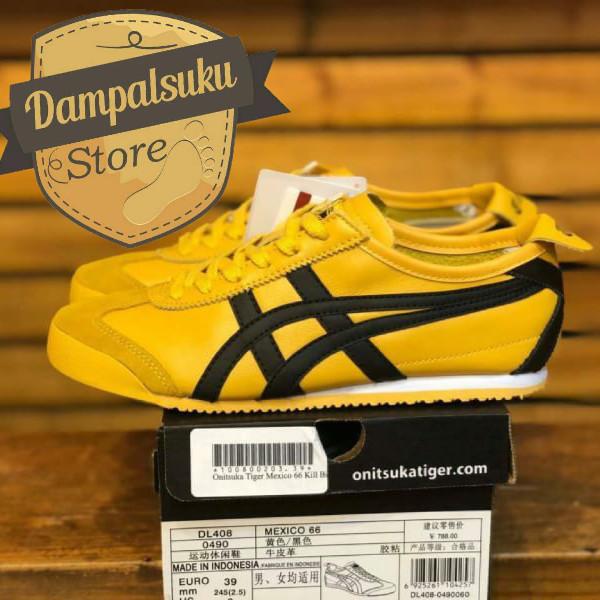 buy popular a9260 70eb2 Jual Sepatu Asics Onitsuka Tiger 66 Mexico Kill Bill Yellow UA PREMIUM -  Kota Bandung - DAMPALSUKU STORE | Tokopedia