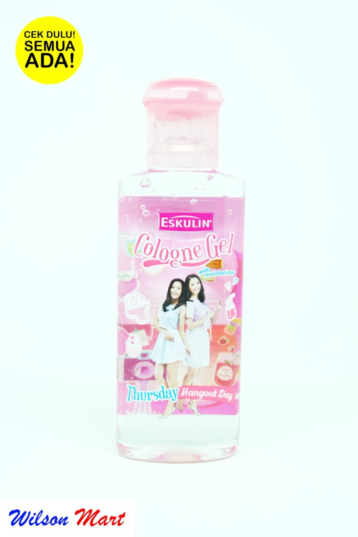 ESKULIN THURSDAY HANGOUT DAY PINK COLOGNE GEL WITH MOISTURIZER 100 ML
