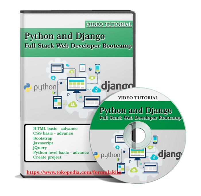 Jual DVD Tutorial Python and Django Full Stack Web Developer bootcamp -  Kab  Jombang - Formula kita | Tokopedia