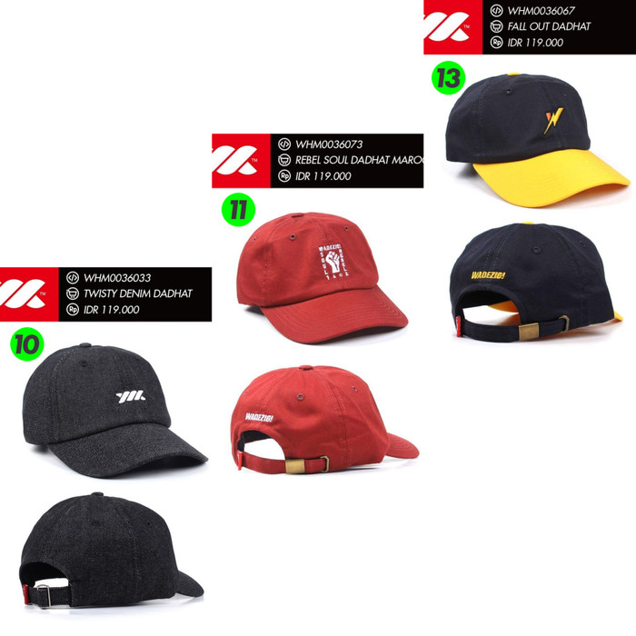 Baseball Cap   Polo Cap   Dad Hat   Topi WADEZIG (Original) UPDATED - Nomor  Satu ede425a49dbd
