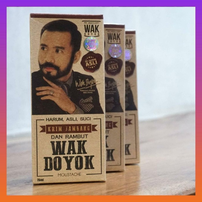 Dijual Krim Penumbuh Jambang Wak Doyok Original Berkualitas