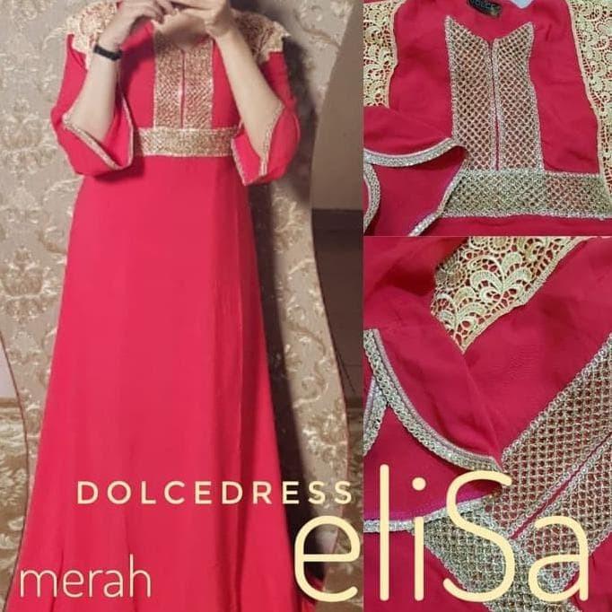 DASTER ARAB/INDIA/DUBAI/TURKI DOLCE ELISA DRESS BUSUI