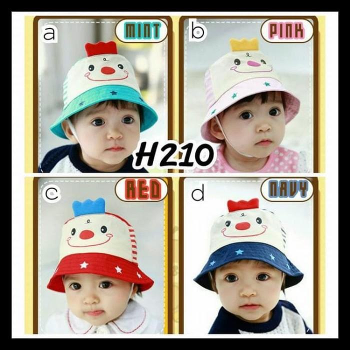 Jual Topi Anak Bayi Laki Perempuan Korea Lucu Gambar Wajah Smile Baru H210 Kab Bekasi Ibnumarwanshop Tokopedia
