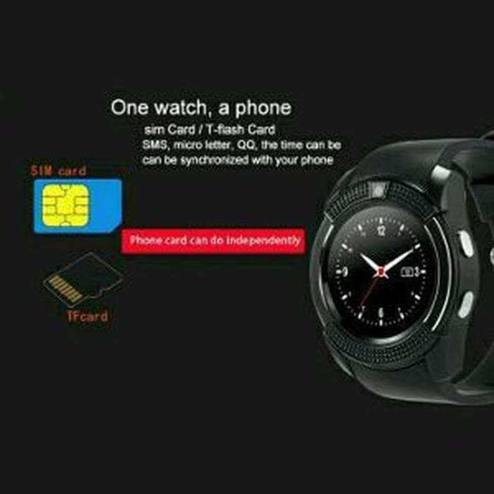 Jual Update PS Promo diskon jam smartwatch smart watch V8 original with -  Update Phone Shop | Tokopedia