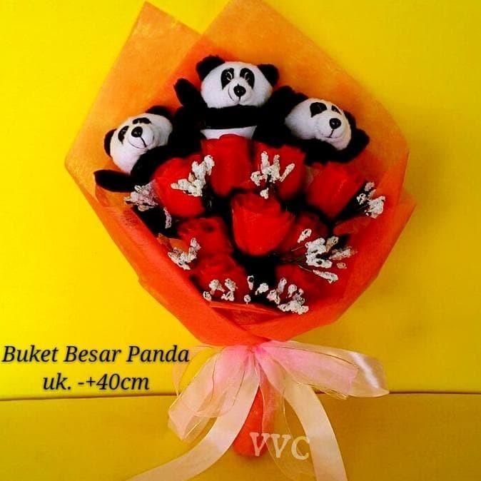 Jual Ready Stock Buket Boneka Panda Besar Buket Bunga Buket Valentine Jakarta Barat Ginarti Budiman Shop Tokopedia