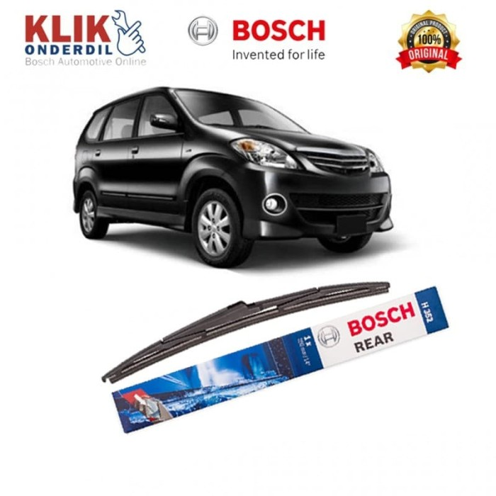 harga Bosch rear wiper kaca belakang mobil avanza rock lock 2 14  h352 -1pcs Tokopedia.com