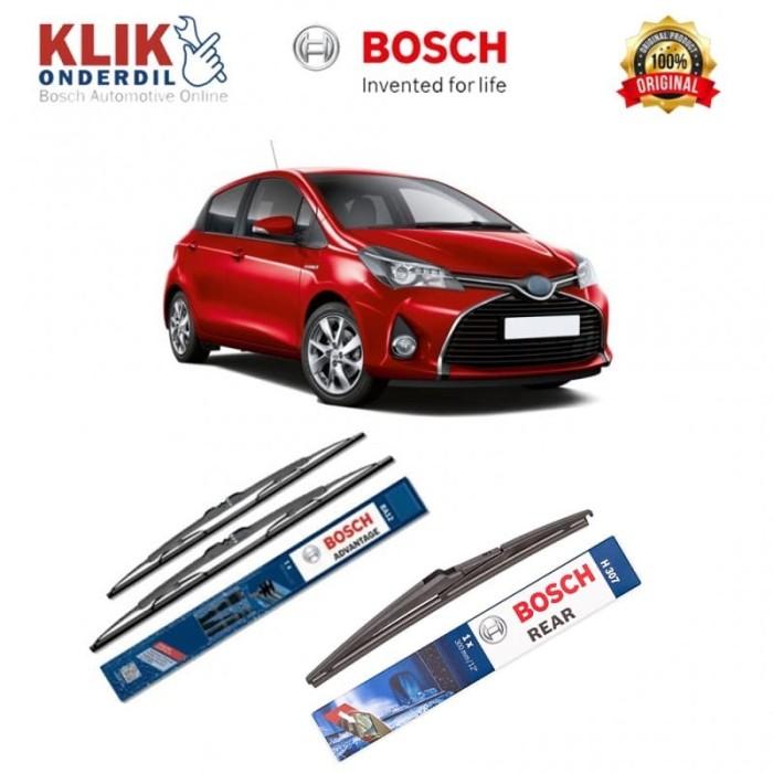 harga Bosch wiper mobil toyota yaris set advantage 24 & 14 + h307 Tokopedia.com