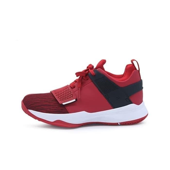 Foto Produk DBL Ardiles AD1 / AD 1 / ADI ABRAHAM Sepatu Olahraga Basket ORIGINAL - Merah Putih, 45 dari Reiko Store