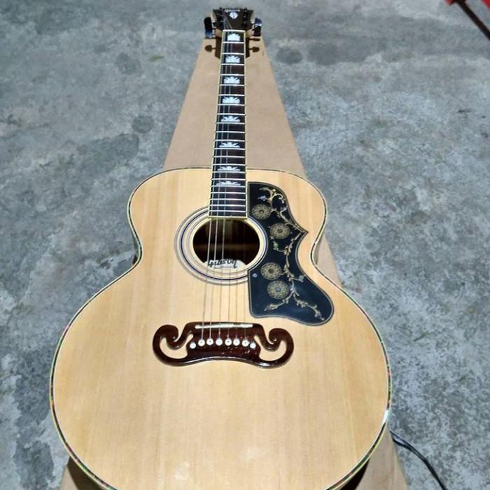 Jual Gitar Akustik Gibson J200 Berkualitas Kab Sukoharjo Mulya Akustik Tokopedia