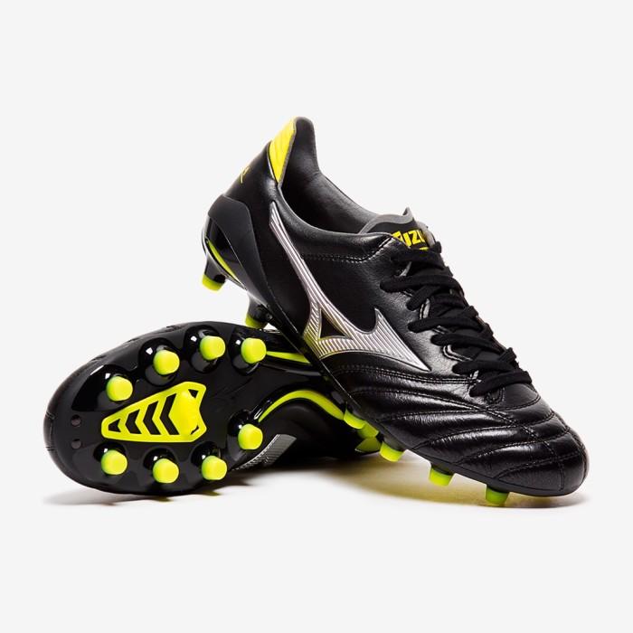huge discount 7b678 ccf02 Jual Sepatu Futsal Mizuno Morelia Neo II Made in Japan FG - Black/Silver -  Kab. Cilacap - A.T.P SPORTS | Tokopedia