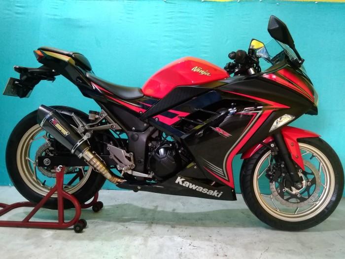 Jual Kawasaki Ninja 250 Abs Warna Merah Tahun 2015 Dki Jakarta