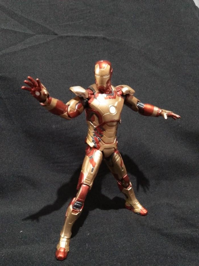 Jual Iron Man Mark 42 Xlii Action Figure Lakonecloth Tokopedia