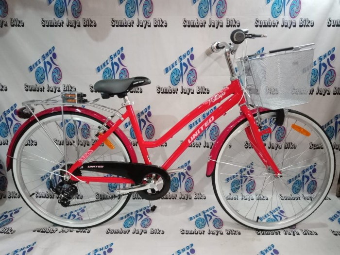 harga Sepeda city bike 26 inch united pattaya alloy 7speed shimano Tokopedia.com