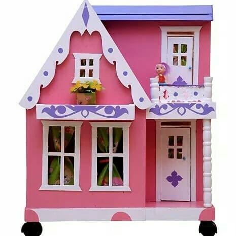 Jual Rumah Rumahan Barbie Ukuran Sedang Jakarta Barat Nyanya Toys Tokopedia