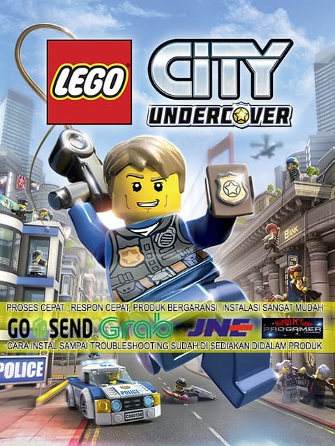 harga Lego city undercover cd dvd game pc gaming pc gaming laptop games Tokopedia.com