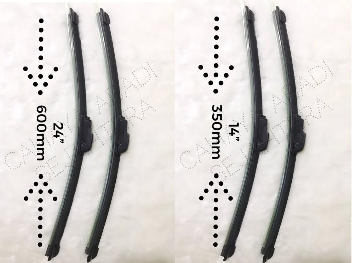 harga Wiper frameless full karet suzuki sx4 uk. 24 -14 Tokopedia.com