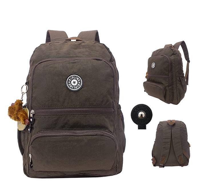 Tas Ransel Backpack Punggung wanita Kipling   kerja kuliah sekolah - Merah 4ead269980