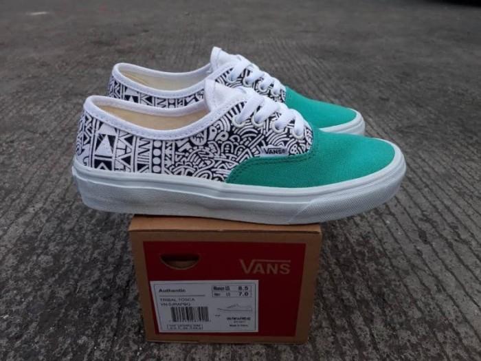 07cc7701c6 Jual Sepatu Vans Authentic Tribal Tosca Premium BNIB Sneakers Wanita ...